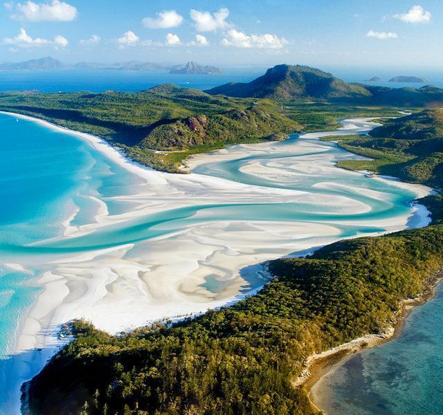 ساحل Whitehaven شگفت انگیز در استرالیا