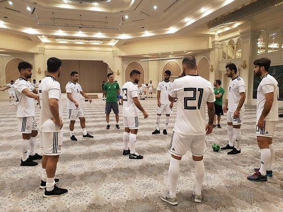 تمرین ریکاوری ملی پوشان پیش از دیدار برابر ازبکستان