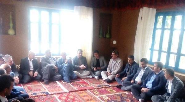 افتتاح اقامتگاه بوم گردی نشینگه بنار در روستای دره تفی مریوان