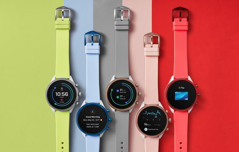 فسیل یک ساعت هوشمند مجهز به جدیدترین تراشه کوالکام را معرفی کرد