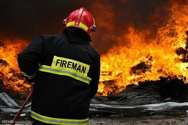 حضور آتش نشانان همدانی در 3 عملیات امداد و نجات طی یک روز