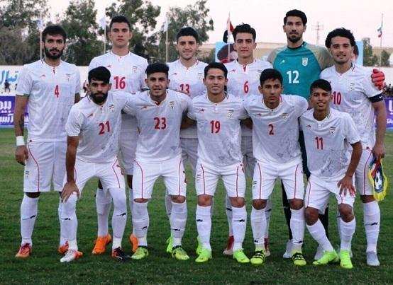 برنامه تیم ملی فوتبال امید ایران برای دیدار تدارکاتی مقابل اردن