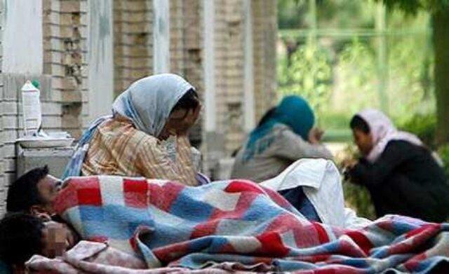 پناه آوردن کارتن خواب ها به گرمخانه ها با سردتر شدن هوا