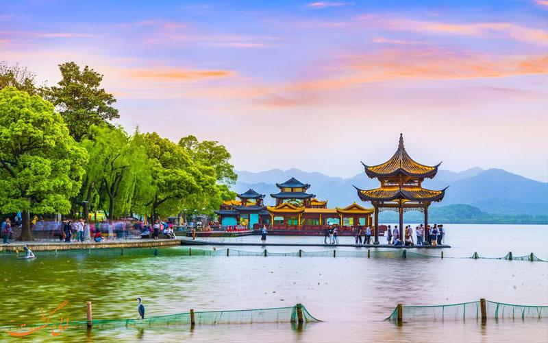 آشنایی با دریاچه غربی در هانگژو چین