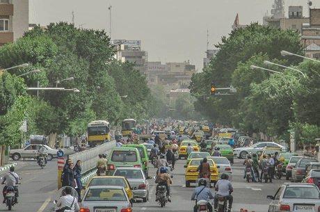 افزایش نسبی غلظت آلاینده ها در هوای تهران