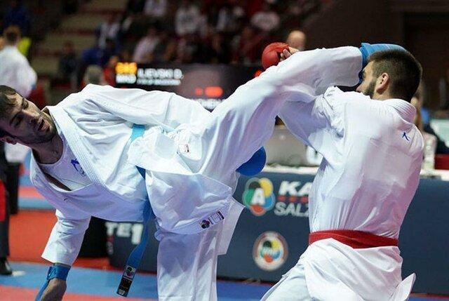 قهرمانی خدابخشی و خاکسار در لیگ جهانی کاراته، خاتمه کار ایران با 2 طلا، 2 نقره و 2 برنز