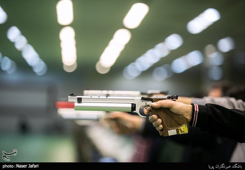 پیگیری اردوهای تیم ملی تیراندازی در رشته تفنگ و تپانچه