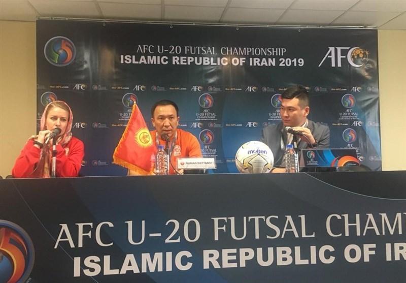 فوتسال قهرمانی زیر 20 سال آسیا، سرمربی قرقیزستان: باید شکست مقابل تایلند را جبران کنیم