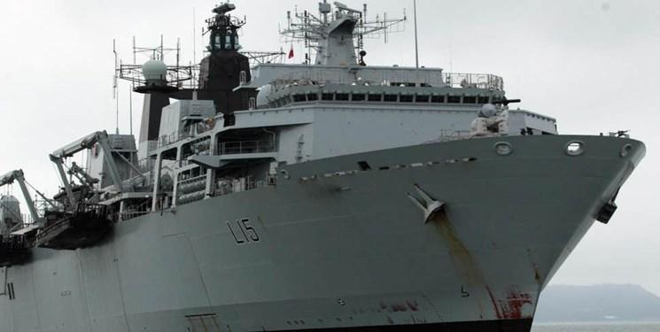حضور بزرگترین ناوگان دریایی انگلیس در نزدیکی روسیه