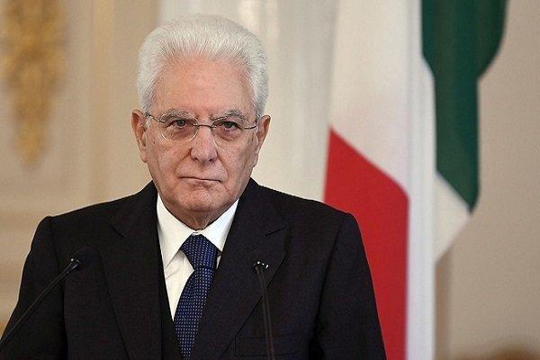 رئیس جمهور ایتالیا تصمیم نهایی درباره دولت آینده را اعلام می نماید