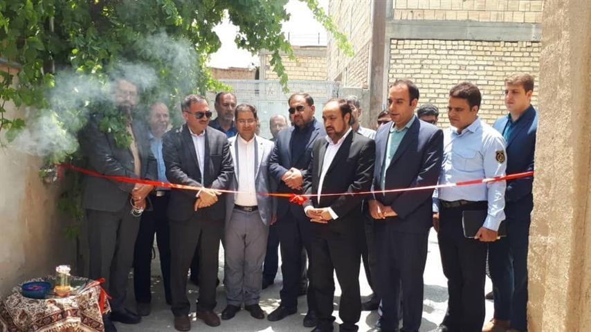 اولین اقامتگاه بوم گردی شهرستان لنجان افتتاح شد