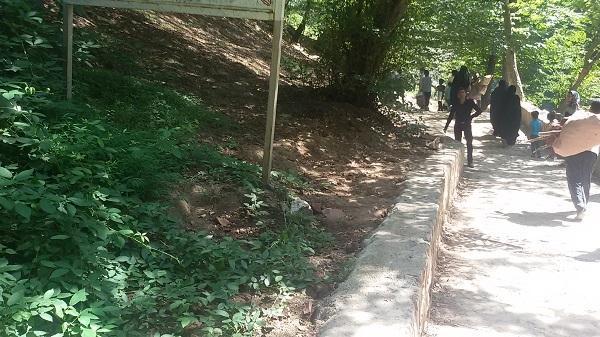 تحویل پروژه تکمیل زیرساخت های گردشگری آبشار شیرآباد به دستگاه بهره بردار