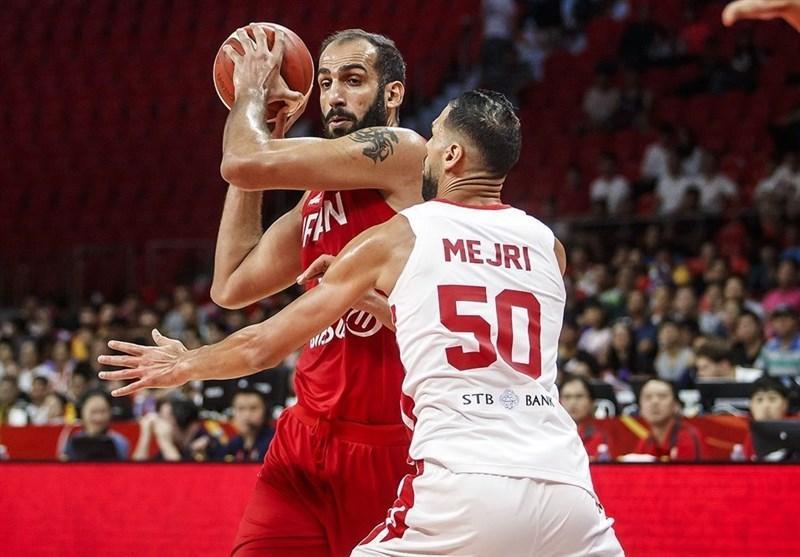 جام جهانی بسکتبال، حدادی موثرترین بازیکن ایران شد