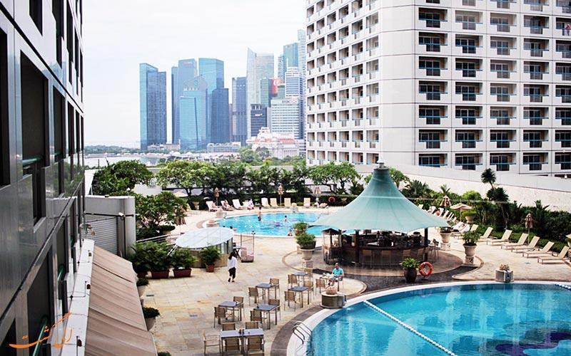 معرفی هتل 5 ستاره فرمونت در سنگاپور