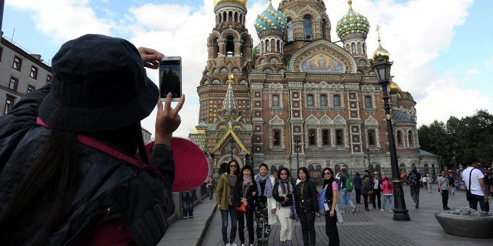 افزایش 65 درصدی گردشگران چینی در کشور روسیه