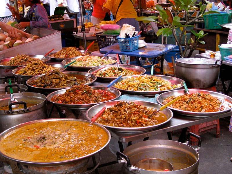 کجای بانکوک غذاهای خیابانی خوشمزه تری دارد؟