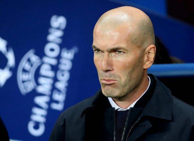 زیدان مقصر اصلی شرایط بد رئال مادرید است