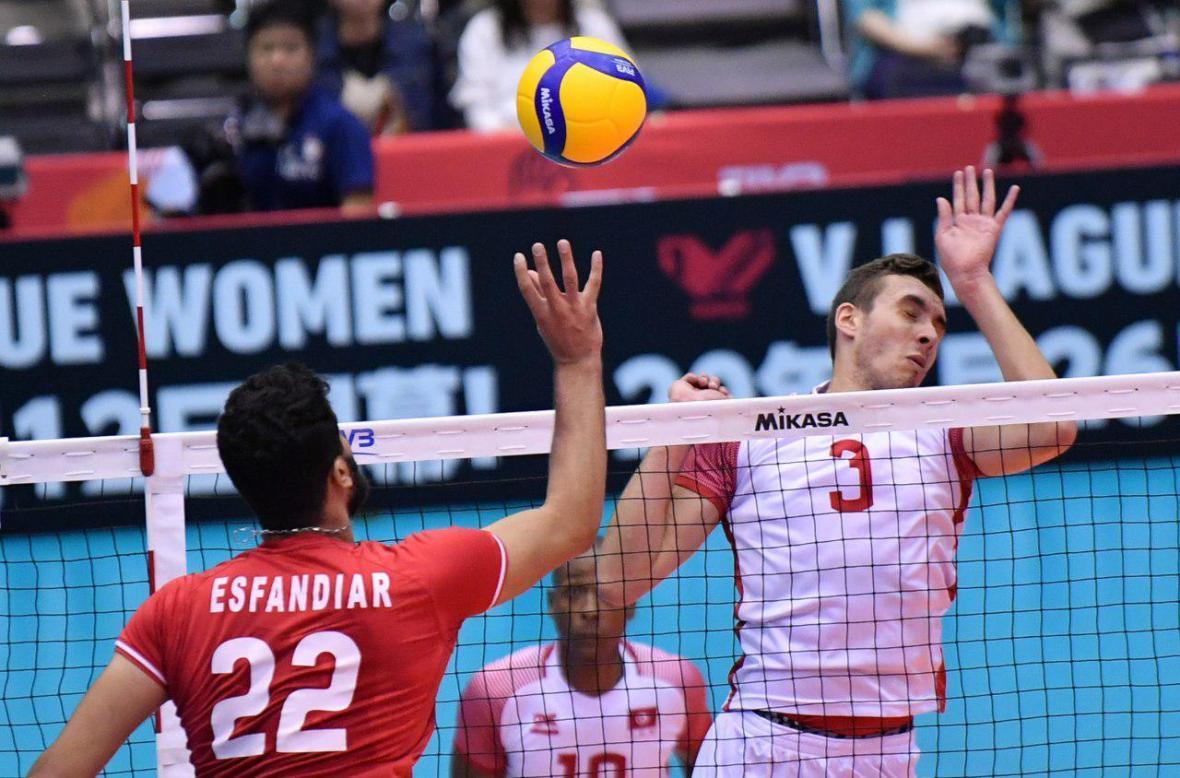 جام جهانی والیبال، قدِ تونس به سروقامتان ایران نرسید