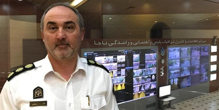 ترافیک نیمه سنگین در تونل آزادی مهران ، یکطرفه شدن جهت های بازگشت در دستور کار پلیس