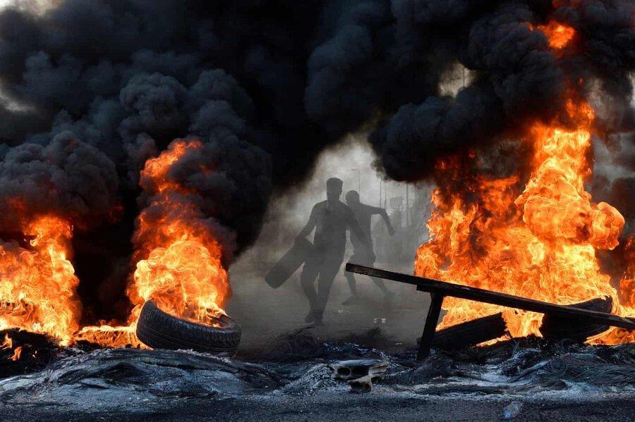 عکس روز: بیروت در آتش