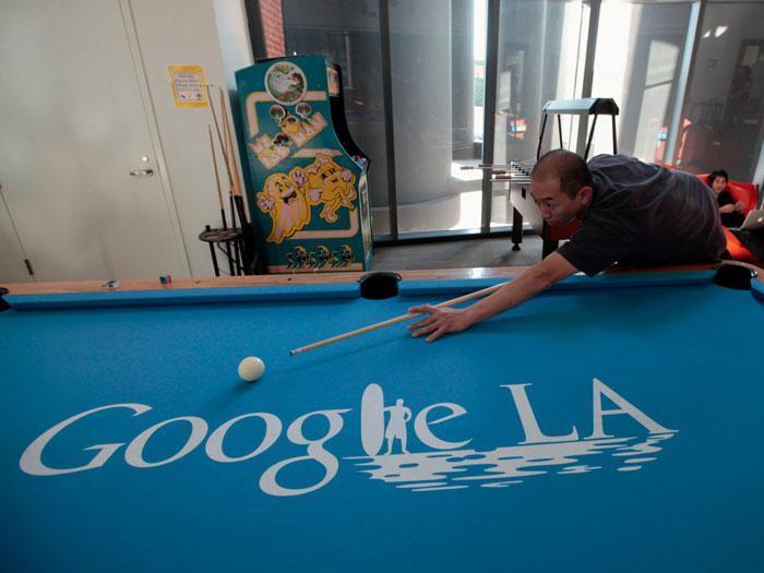 عکس های دفتر کار کارمندان گوگل