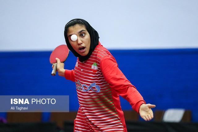 اشتری: بانوان پینگ پنگ باز ایران سهمیه المپیک2020 را می گیرند