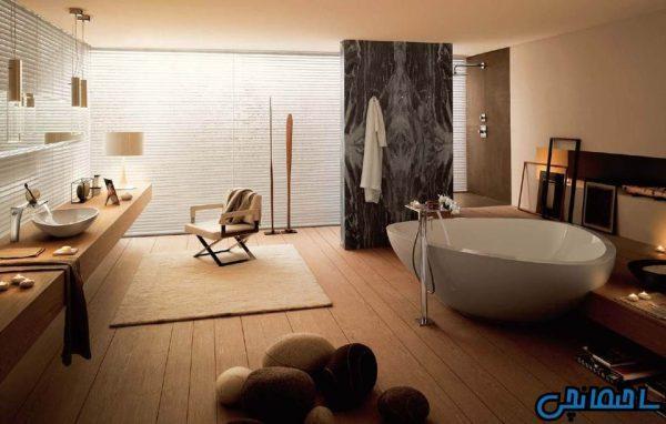 انواع حمام های لوکس و فوق العاده زیبا