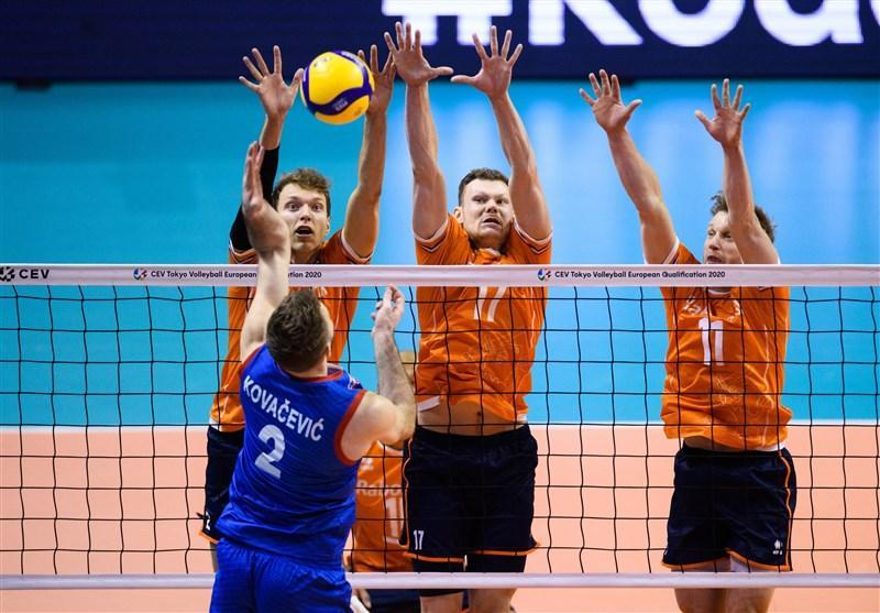 والیبال انتخابی المپیک، شاگردان کواچ هلند را شکست دادند