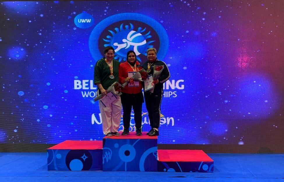 زنان ایران قهرمان کشتی آلیش جهان شدند