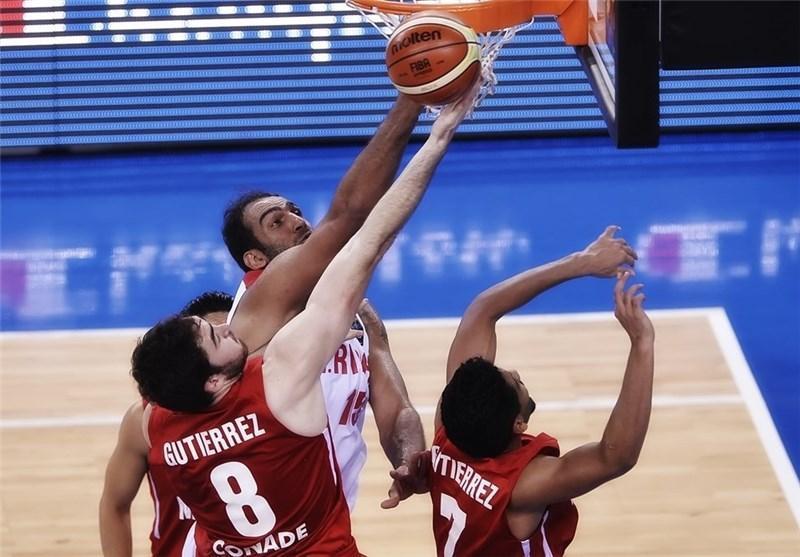 شکست تیم ملی بسکتبال ایران مقابل مکزیک به روایت تصویر