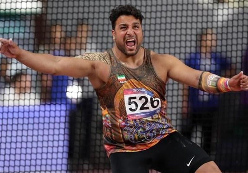 حمایت همه جانبه برای تکرار مدال پرتاب دیسک ایران در المپیک
