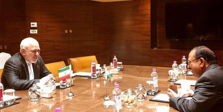 ملاقات خصوصی مشاور امنیت ملی هند با ظریف