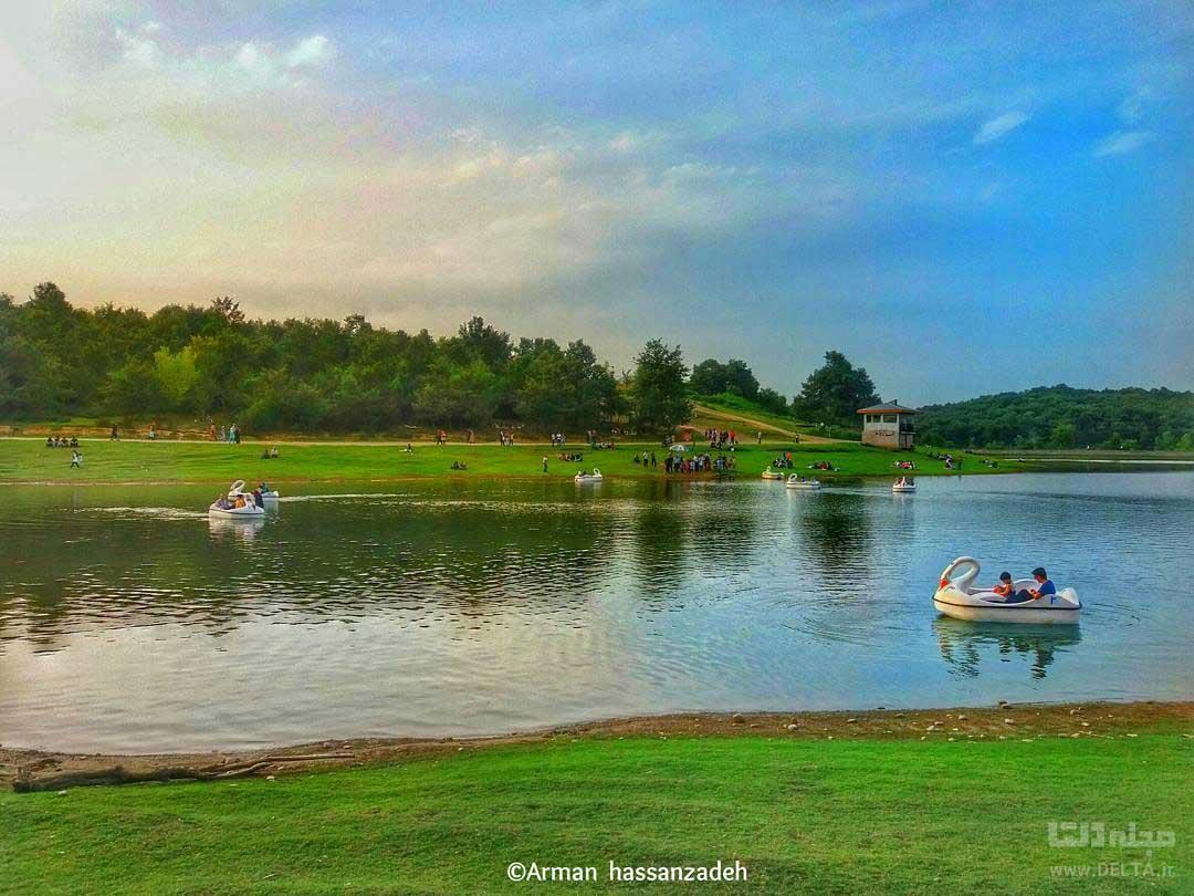سقالکسار ؛ پاک ترین دریاچه گیلان (