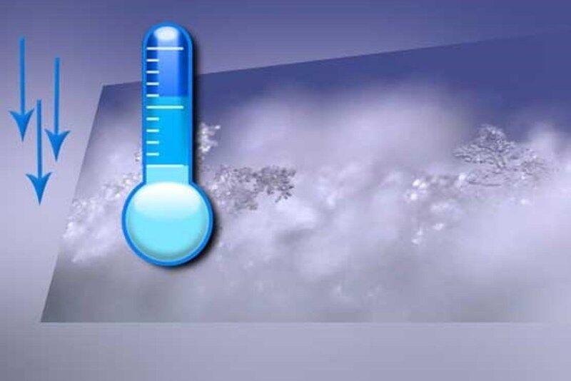 ماندگاری سرما و یخبندان در فارس
