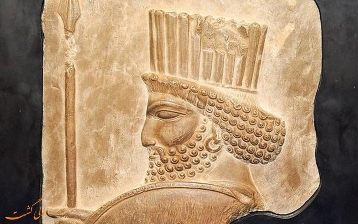 سردیس هخامنشی برای اولین بار در موزه منطقه ای جنوب شرقِ زاهدان رونمایی شد!