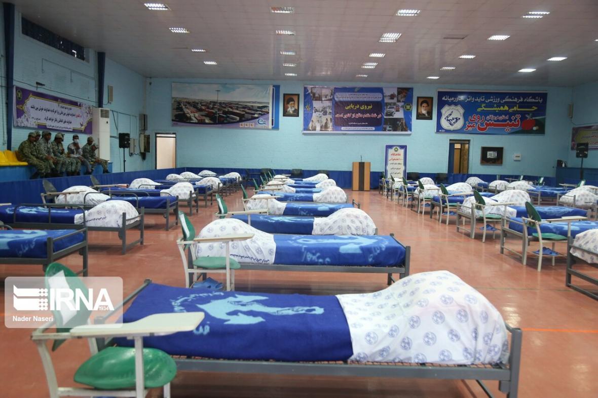 خبرنگاران 15 بیمار کرونا در نقاهتگاه نداجا بستری هستند