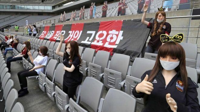 عذرخواهی باشگاه کره ای به دلیل استفاده از عروسک های مبتذل در استادیوم