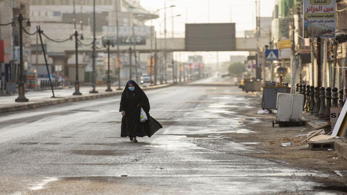 بهداشت جهانی از شرایط شیوع کرونا در عراق نگران است