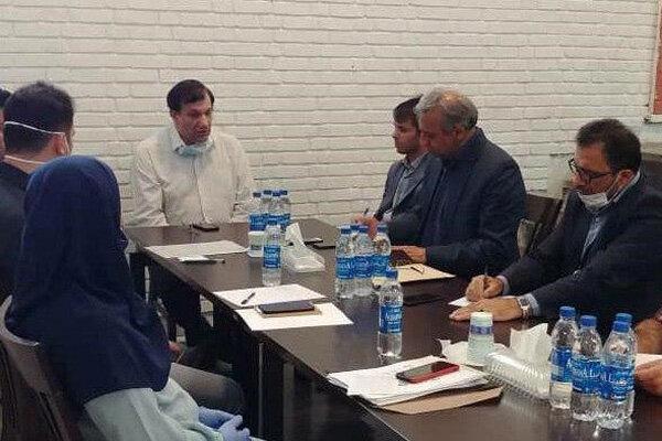 نشست حسن رنگرز با مسئولان فدراسیون وزنه برداری برگزار گردید
