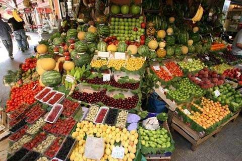 جدیدترین قیمت میوه و صیفی