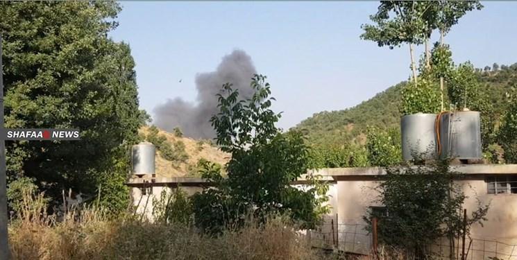 نخستین حمله هوایی ترکیه به منطقه نزدیک دهوک عراق