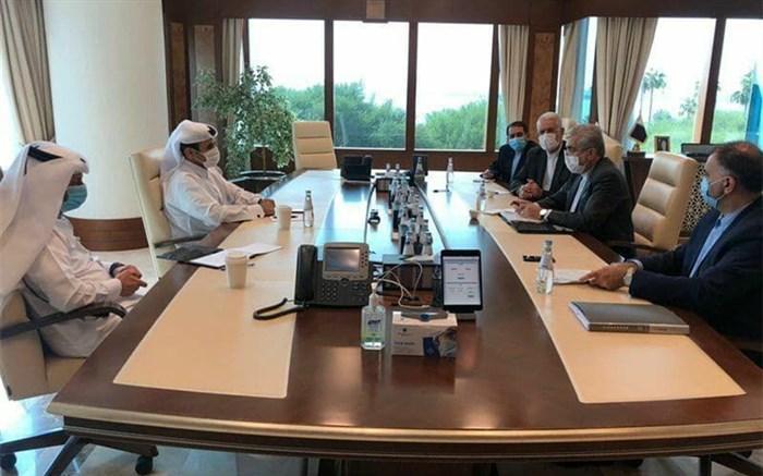 وزیر نیرو با وزیر مشاور در امور انرژی قطر ملاقات کرد