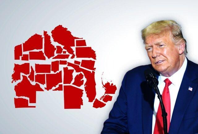 شرایط قرمز ترامپ در ایالتهای جمهوری خواه