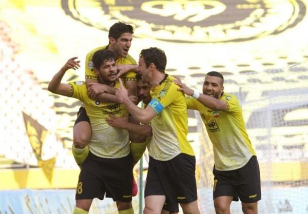 تیم منتخب هفته ششم لیگ برتر فوتبال با خط آتش زرد