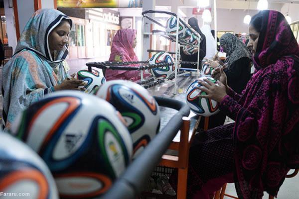(ویدئو) بزرگترین قطب فراوری توپ فوتبال در دنیا