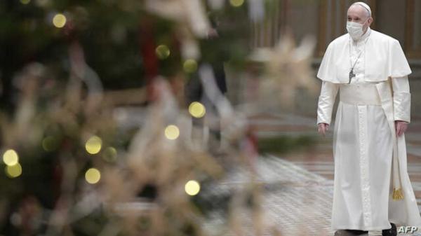 پاپ خواستار انتها درگیری های مسلحانه شرم آور در دنیا شد، به مناسبت عید پاک