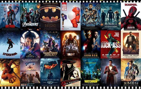 75 فیلم ابرقهرمانی برتر تاریخ سینما بر اساس نظر منتقدان