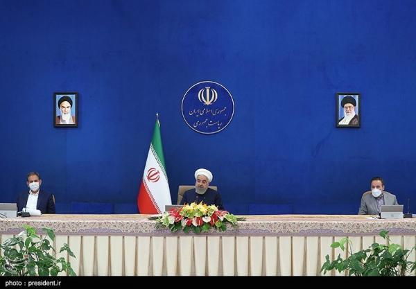 فیلم، چت لو رفته روحانی با کابینه اش درباره کرونا!