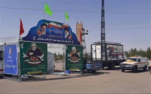 استقرار سه بیمارستان سیار سپاه در سیستان وبلوچستان