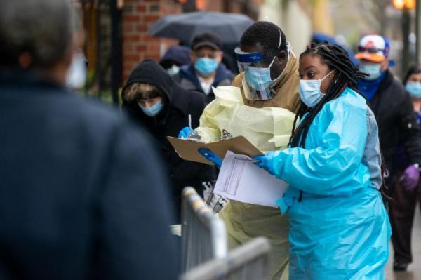 مرگ ومیر کرونا در آمریکا با تلفات آنفلوانزای اسپانیایی برابر شد